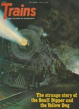 TRAINS Magazine Volume 32 Number 12 October 1972