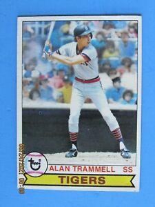 1979 TOPPS #358 ALAN TRAMMEL 2nd YEAR EX-MT HOFer