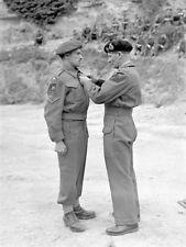 WW2  Photo WWII British General Montgomery Medal Ceremony  World War Two / 1567