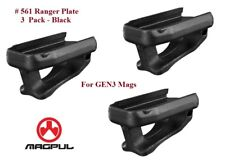 Magpul MPI Ranger Plates for Gen M3 GEN3 mags or others - 3 Pack - Black