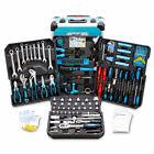 BITUXX 1200 tlg Werkzeugkoffer Set Werkzeugkasten Werkzeugbox Werkzeugtrolley XL