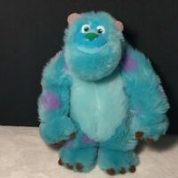 Monsters Inc. Pixar Sulley Sully Sullivan Disney Parks Plush Stuffed Standing 11