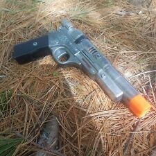 movie prop blaster hand painted plastic gun
