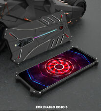 R-JUST Aluminum Metal Shockproof Back Case Cover For ZTE Nubia Red Magic 3 / 3s