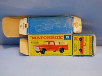 ORIGINAL VINTAGE EMPTY MATCHBOX BOX FOR FORD PICK UP 6 TOY CAR