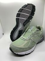 New Balance Mens M990SM4 990 Silver Mint Made in USA Running Sneakers Size 10