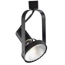 WAC Lighting HTK-764-BK H Series Line Voltage Track Head 75W Black H-Track LED