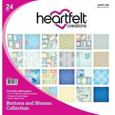 Heartfelt Creations Buttons and Blooms Paper Collection HCDP1-295