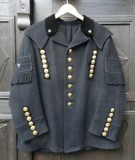 Antike handgefertigte originale Miners Steiger Uniform Bergmann Jacke
