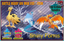 ARTICUNO ZAPDOS MOLTRES✨GALARIAN SHINY✨6IV Pack Pokemon Sword and Shield