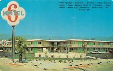 SANTA BARBARA, CA California   MOTEL 6    Roadside   c1960's Chrome Postcard