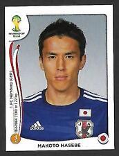 PANINI STICKER-FIFA-Coupe du Monde 2014-Nº 252-Makoto HASEBE-Japon