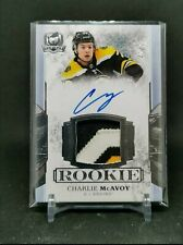 2017-18 The Cup #173 Charlie McAvoy JSY AU 40/99 RC RPA rookie