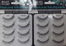 Ardell 110 NATURAL MULTI 2PACK (8 Pairs)  False Eyelashes Fake Lashes