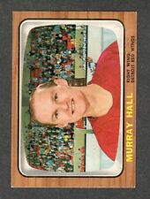 1966-67 MURRAY HALL #105 EX-MT Topps ** Red Wings NHL Hockey Card