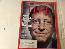 Time Magazine August 11 2008 Bill gates