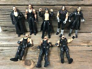 WWE Jakks Undertaker Lot of 8 Loose Figures