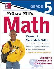 Math, Grade 5 by McGraw-Hill Editors (2012, Paperback)