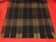 ROYAL-SCOT ... Vintage  100%  Australian  Lambs  Wool  Plaid  Scarf