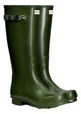 SALE New Ladies Field Hunter Boots Wellies Wellingtons Vintage Green 4