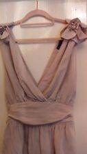 FRENCH CONNECTION Pure Silk top Nude size 10