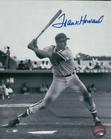 Frank Howard Signed 8X10 Photo Autograph Vintage Black & White Auto COA Dodgers
