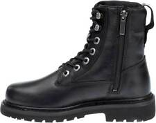 Harley-Davidson® Women's SIZE 10 Robindale 6-Inch Black Motorcycle Boots D83915
