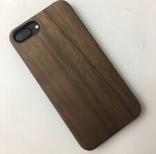 Walnut Wood iPhone 7 Case W/ Tempered Glass Screen Protector