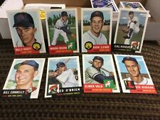 1953 Topps Archive.  Lot of 440 cards.  Mint