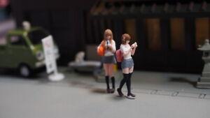 FigureWorkShop 1/64 Figures School girl 2pcs set #FWS164028  New Series