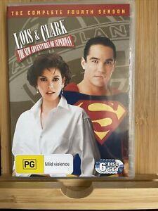 Lois & Clark New Adventures of Superman Season 4 (DVD) Teri Hatcher - Rare