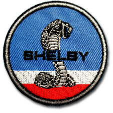 Shelby Cobra Patch Iron on Badge Emblem Stud Stallion Ford Horse Mustang