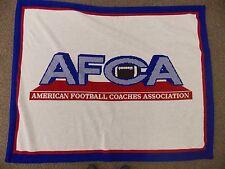 American Football Coaches Association Blanket Size 61 X 48