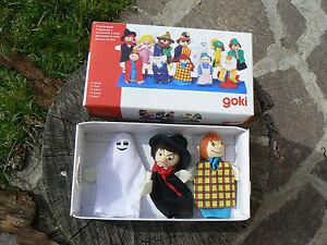 Goki set 3 marionette burattini da dita SO401 Fingerpuppets