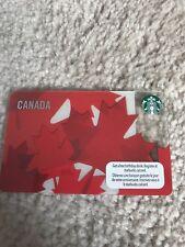 2012 Starbucks Card - CANADA