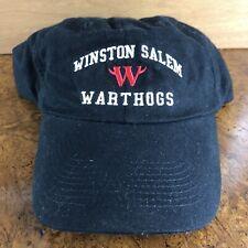 Vintage Winston-Salem Warthogs Adjustable Hat Minor League Baseball Defunct MiLB