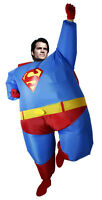 Handmade Airblown Inflatable Fat Superman Costumes Superhero Funny dress Adult A