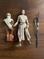 Star Wars 2015 Black Series Rey (Jakku) Exclusive Figure 3.75 Inches Incomplete