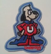 "Underdog~Embroidered Patch~3 1/4"" x 2 3/4""~Cartoon Superhero~Iron or Sew"