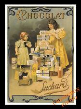 Carte postale publicitaire CHOCOLAT SUCHARD advertising postcard pub réclame new