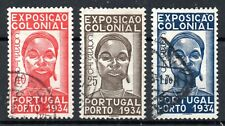 Portugal 1934 Colonial Exhibition Set 3v SG878-880 Used