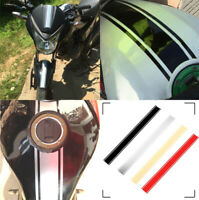 Motorcycle Tank Cowl Vinyl Stripe Pinstripe Decal Sticker For Cafe Racer 50cm L
