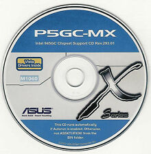 ASUS P5GC-MX AND P5GZ-MX-SE Motherboard Drivers Installation Disk M1060