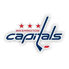 Washington Capitals Decal / Sticker Die cut