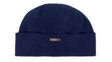 ba355535674 Ted Baker Plain Logo Navy Beanie Hat - Brand New With Tags