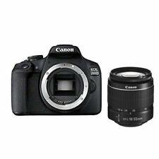 Canon EOS 2000D 24,1 Mpx Fotocamera Reflex Digitale (Kit con EF-S 18-55mm f3,5-5,6 III Obiettivo) - Nera (2728C002)