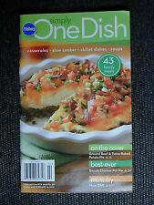 PILLSBURY Cookbook Booklet SIMPLY ONE DISH 2008 #321