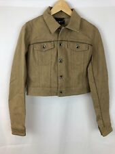 Diesel Black Gold Wimble Tan Women Jacket Size 4(US) NWT Authentic Made In Italy