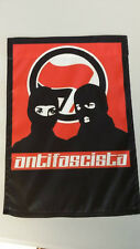 Antifascista Antifa anti Fascist Hooligan Ultras Hand Flag 15×12″