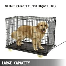 Dog Crate Dolly, Pet Crate Dolly, 42.5x23.6x7 Inches, for Dog Shows, Dog Carrier